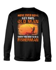 Fishing Move Over Boys Eng Crewneck Sweatshirt thumbnail