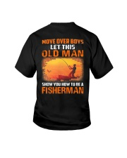 Fishing Move Over Boys Eng Youth T-Shirt tile
