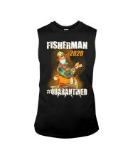 Fishing fisherman Eng Sleeveless Tee thumbnail
