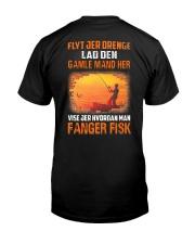Fishing Move Over Boys Danish Classic T-Shirt back
