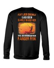 Fishing Move Over Boys Danish Crewneck Sweatshirt thumbnail