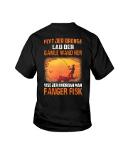 Fishing Move Over Boys Danish Youth T-Shirt tile