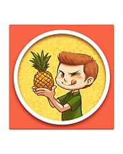 PINEAPPLE COASTER Square Coaster front