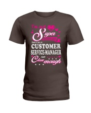 CUSTOMER SERVICE-MANAGER Ladies T-Shirt front