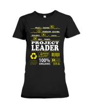 PROJECT LEADER Premium Fit Ladies Tee thumbnail