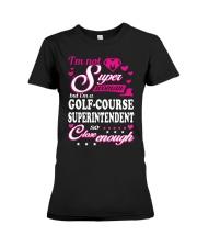 GOLF-COURSE SUPERINTENDENT Premium Fit Ladies Tee thumbnail