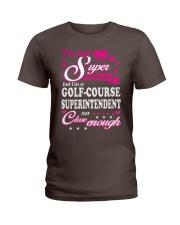 GOLF-COURSE SUPERINTENDENT Ladies T-Shirt front