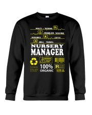 NURSERY MANAGER Crewneck Sweatshirt thumbnail