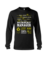 NURSERY MANAGER Long Sleeve Tee tile