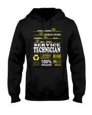 SERVICE TECHNICIAN Hooded Sweatshirt thumbnail