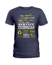 SERVICE TECHNICIAN Ladies T-Shirt front