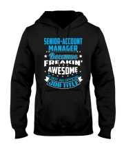 SENIOR-ACCOUNT MANAGER Hooded Sweatshirt thumbnail