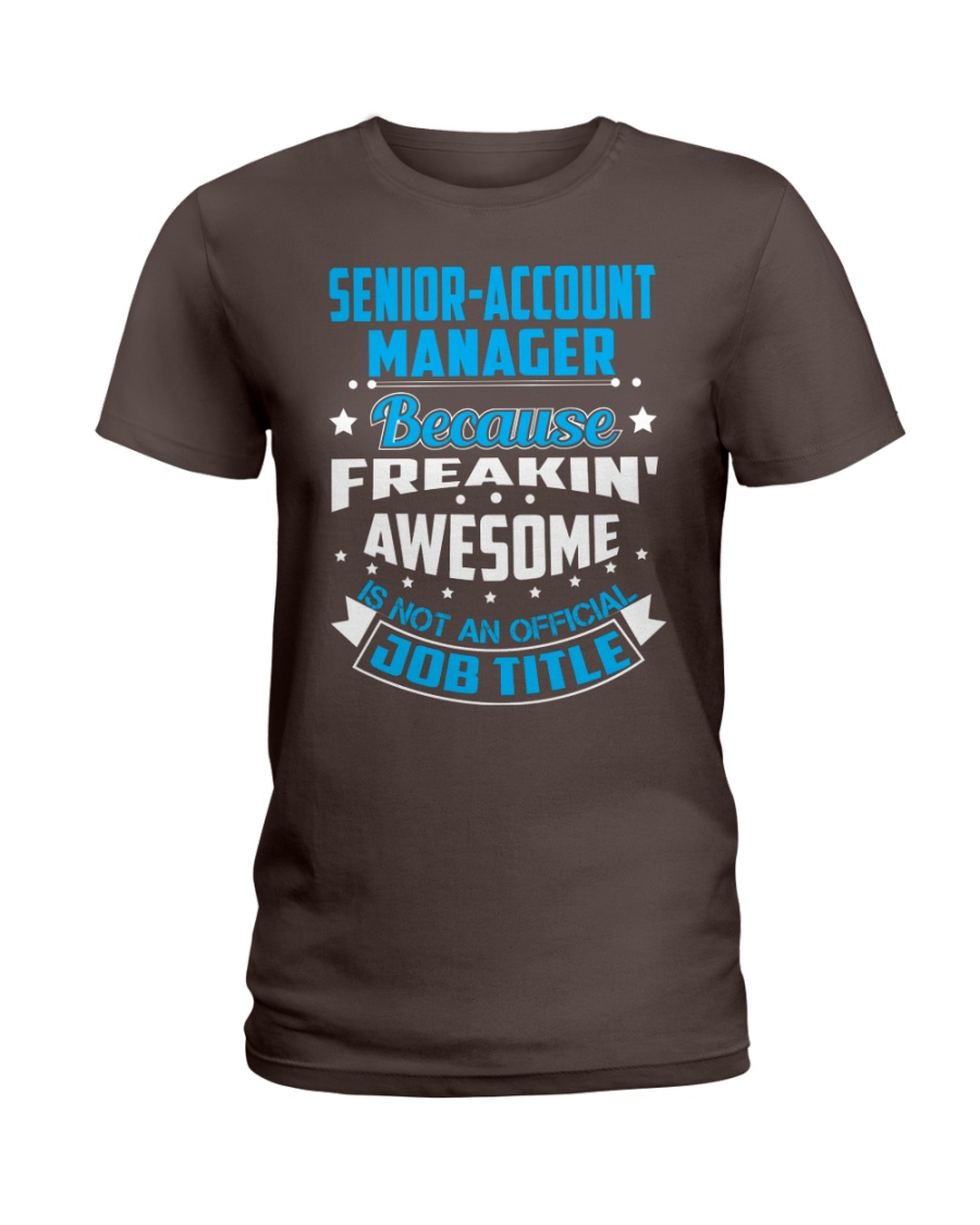SENIOR-ACCOUNT MANAGER Ladies T-Shirt