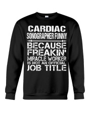 CLOTHING CARDIAC SONOGRAPHER FUNNY Crewneck Sweatshirt thumbnail
