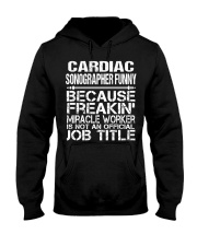 CLOTHING CARDIAC SONOGRAPHER FUNNY Hooded Sweatshirt thumbnail