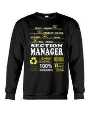 SECTION MANAGER Crewneck Sweatshirt thumbnail