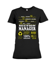 SECTION MANAGER Premium Fit Ladies Tee thumbnail