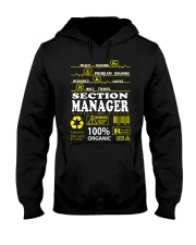 SECTION MANAGER Hooded Sweatshirt thumbnail