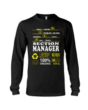 SECTION MANAGER Long Sleeve Tee thumbnail