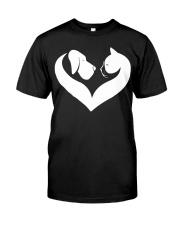 Dog And Cat Lover Shirt Classic T-Shirt thumbnail