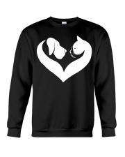 Dog And Cat Lover Shirt Crewneck Sweatshirt thumbnail
