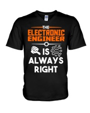 Electrical Engineer Is Always Right Shirt V-Neck T-Shirt thumbnail