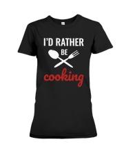 Cooking Shirt Premium Fit Ladies Tee thumbnail