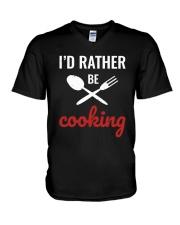 Cooking Shirt V-Neck T-Shirt thumbnail