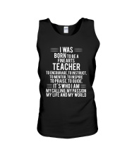 Fine Arts Teacher T-shirt Unisex Tank thumbnail