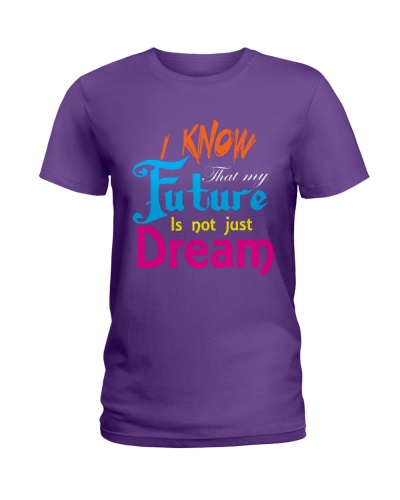 Future Dream T-Shirt font design