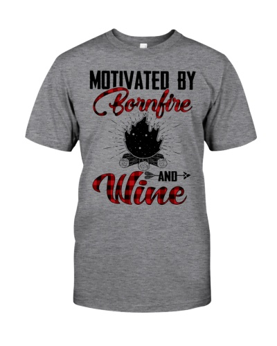 Motivated by bornfire and wine