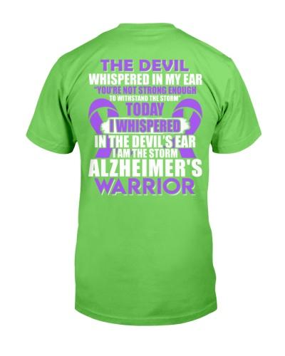 The devil whispered - Alzheimer's Awareness