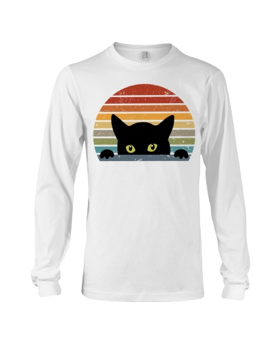 Hiding Black Cat - Funny Cat