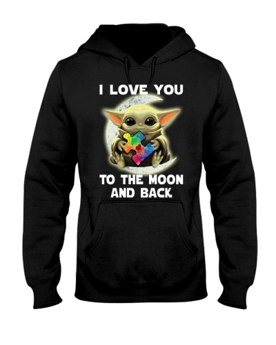 I love You to the Moon and back - Autism Awareness