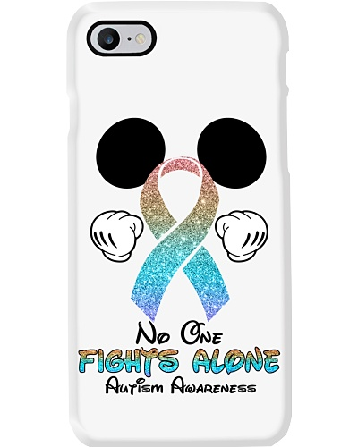 No one fights alone - Autism Awareness