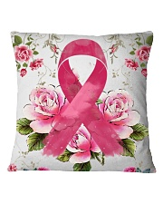 Breast cancer Awareness  Square Pillowcase tile