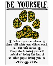 Be yourself  - Dog lover Poster 11x17 Poster front