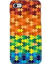 Autism Puzzle - Autism Awareness Phone Case thumbnail