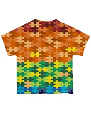 Autism Puzzle - Autism Awareness All-over T-Shirt back