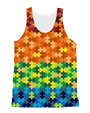 Autism Puzzle - Autism Awareness All-over Unisex Tank thumbnail