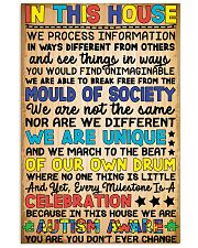 In this house - Autism Awareness 24x36 Poster front