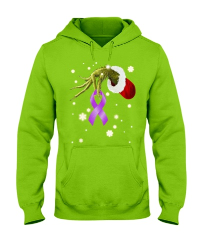 Purple ribbon - Alzheimer's Awareness