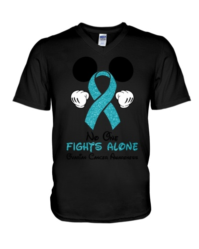 No one fights alone - Ovarian cancer Awareness