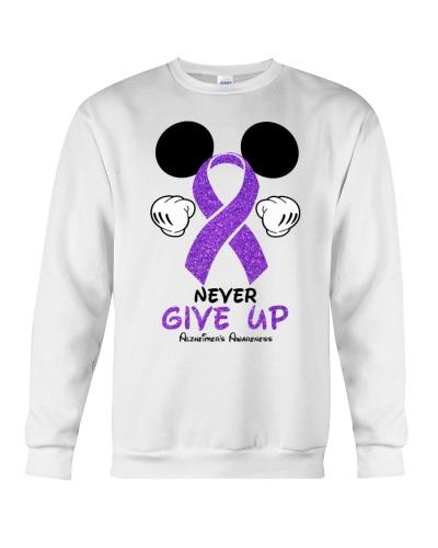 Never give up - Alzheimer's Awareness