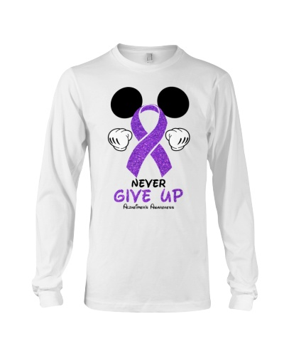 Never give up - Alzheimer's Awareness