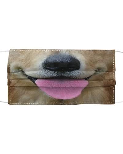 Cute Tongue Golden Retriever