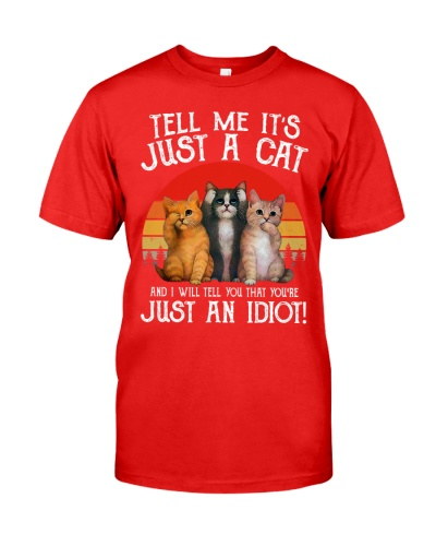 Tell me it's just a cat and I will tell you