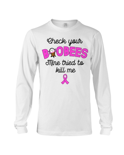 Check your boobees - Breast cancer Awareness