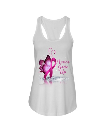 Never give up - Breast cancer Awareness