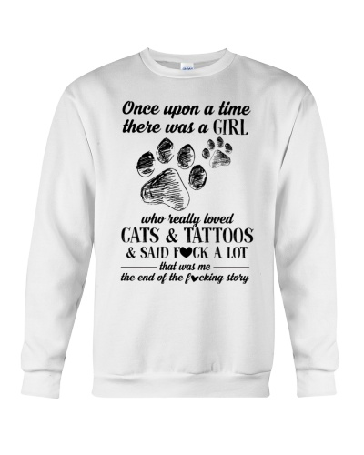 Cats and Tattoo - Funny Cat